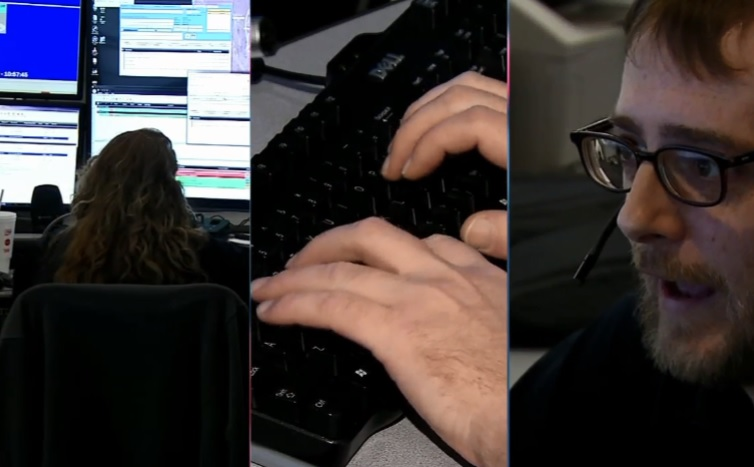 Rick McElhaney, deputy director of operations, says there are some common traits among people who excel as emergency dispatchers. They tend to be multitaskers with good computer skills and good people skills. (WCHS/WVAH)<p></p>