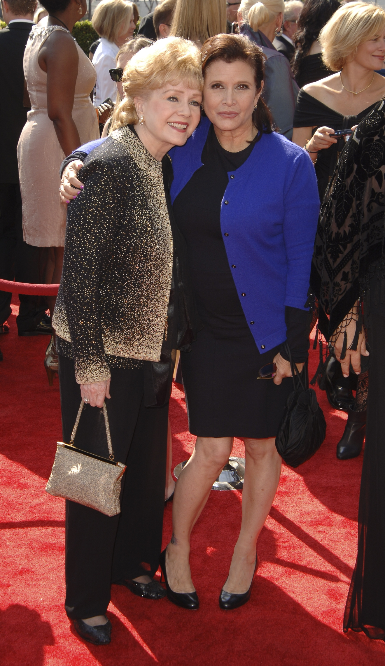 Carrie Fisher, Debbie Reynolds                  2011 Primetime Creative Arts Emmy Awards                  Held at The Nokia Theatre L.A. Live                  Los Angeles, California - 10.09.11                                    Featuring: Carrie Fisher, Debbie Reynolds                  Where: CA, United States                  When: 11 Sep 2011                  Credit: WENN