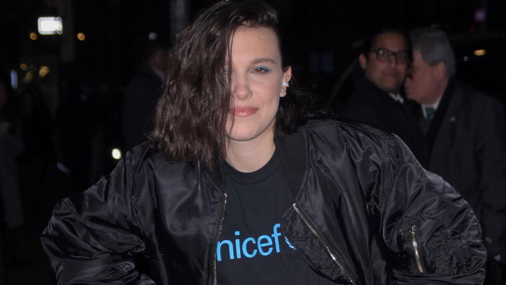 Millie Bobby Brown becomes UNICEF's youngest ever Goodwill Ambassador