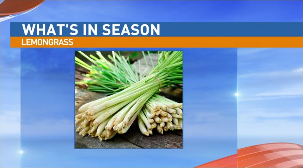 Ryan Jacobsen with the Fresno County Farm Bureau visited Great Day to talk about What's In Season: Lemongrass.