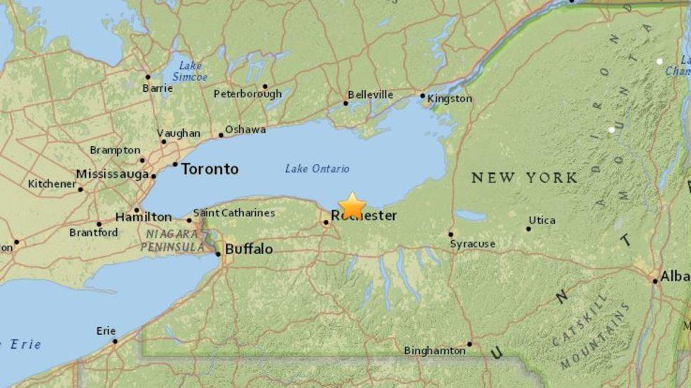 Rochester ny earthquake