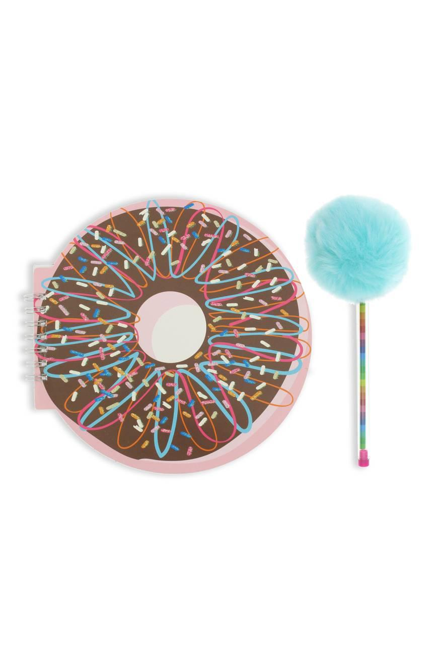 Capelli New York Donut Notebook and Pom Pen Set from Nordstrom // Price: $12 // (Nordstrom)<p></p>