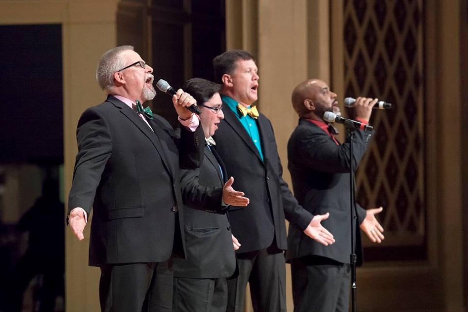 Join ArtsWave Wednesday, April 19 at the Aronoff Center for the CincySings Finals, a competition which pits singing teams from Cincinnati's largest companies against each other. / Image courtesy of ArtsWave