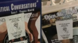 White Nationalist hate group flyers found on MTSU campus Black History Month posters