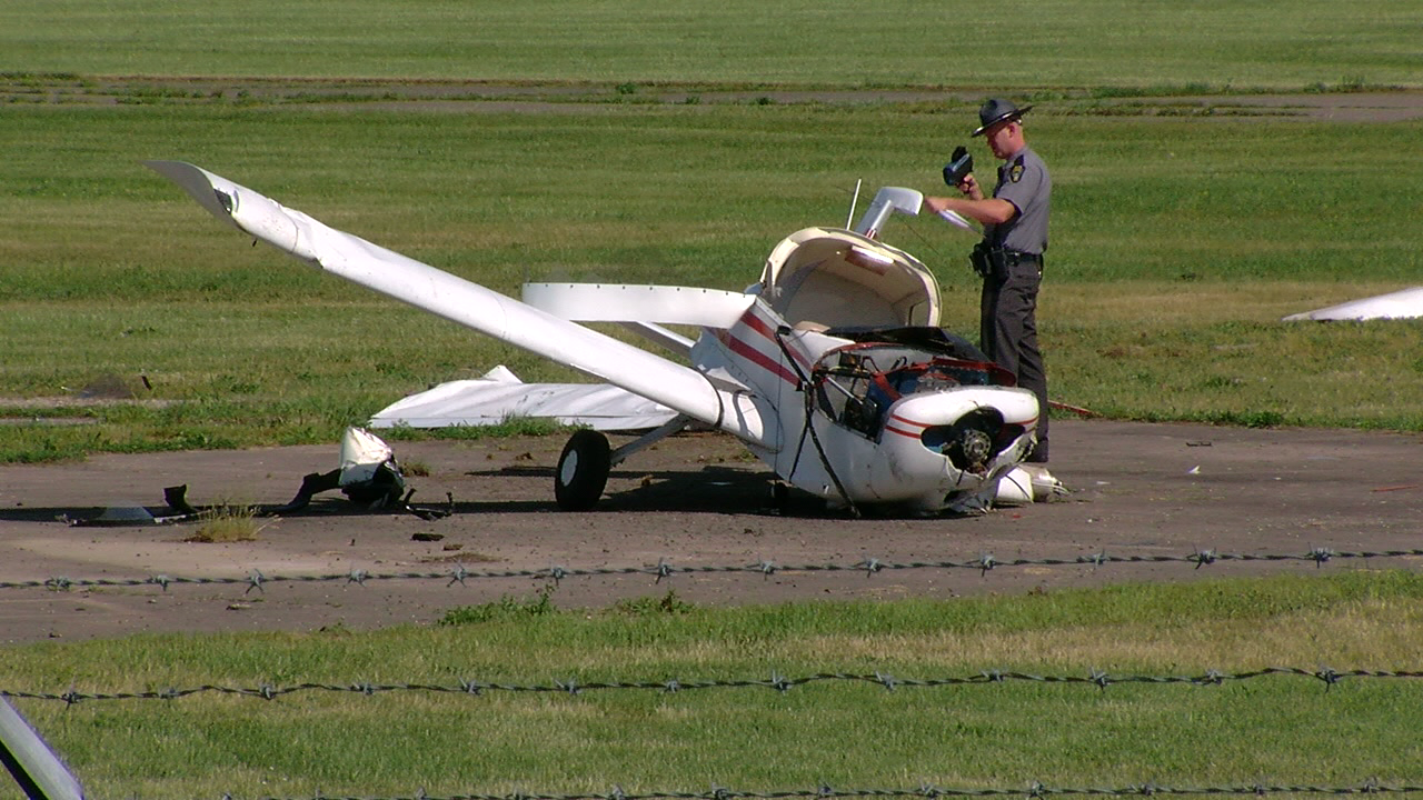 Pilot injured in small plane crash at Butler County Regional Airport in Ohio (WKRC)