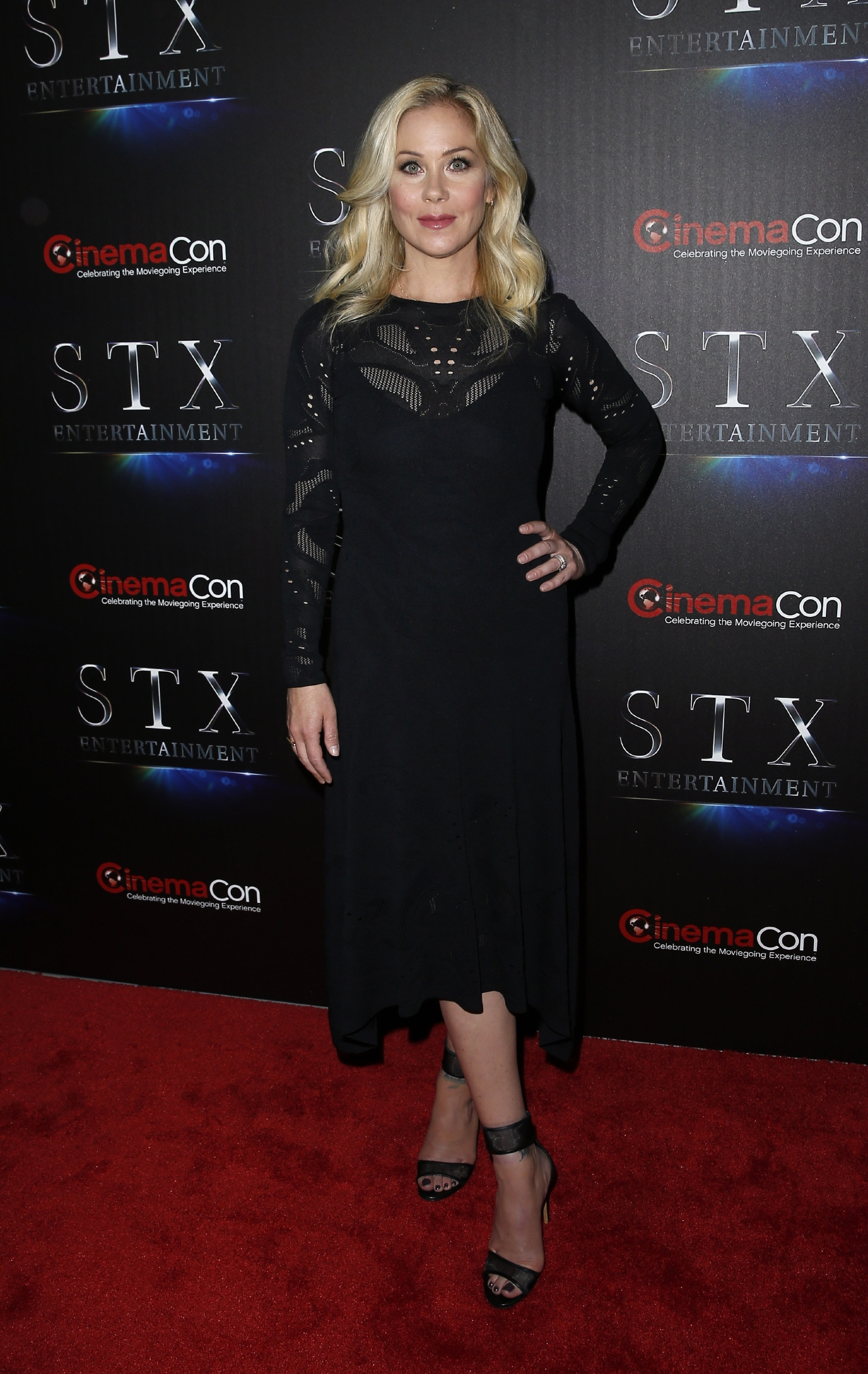 "STX Entertainment Presentation Following CinemaCon's ""State of the Industry: Past, Present and Future at Caesar's Palace Resort and Casino                                    Featuring: Christina Applegate                  Where: Phoenix, Arizona, United States                  When: 12 Apr 2016                  Credit: Judy Eddy/WENN.com"
