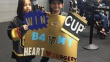 8-year-old heart patient hopes Golden Knights win Cup before his surgery