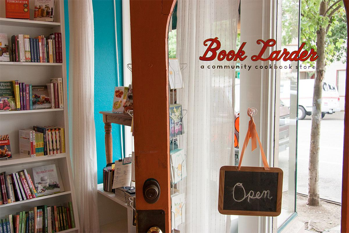 Book Larder is Seattle's community cookbook store located in Fremont. (Image: Melanie Biehle/Seattle Refined)