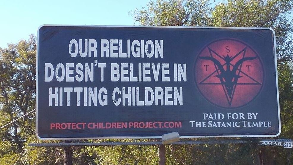 Satanic Temple Takes Aim At Corporal Punishment Policy With South