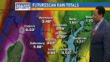 Heavy rain ahead: 3-6 inches possible, or more
