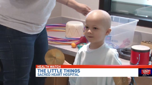 """The Little Things"" that help children and families heal when they are in the hospital"
