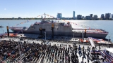 USS Detroit commissioned in its namesake city