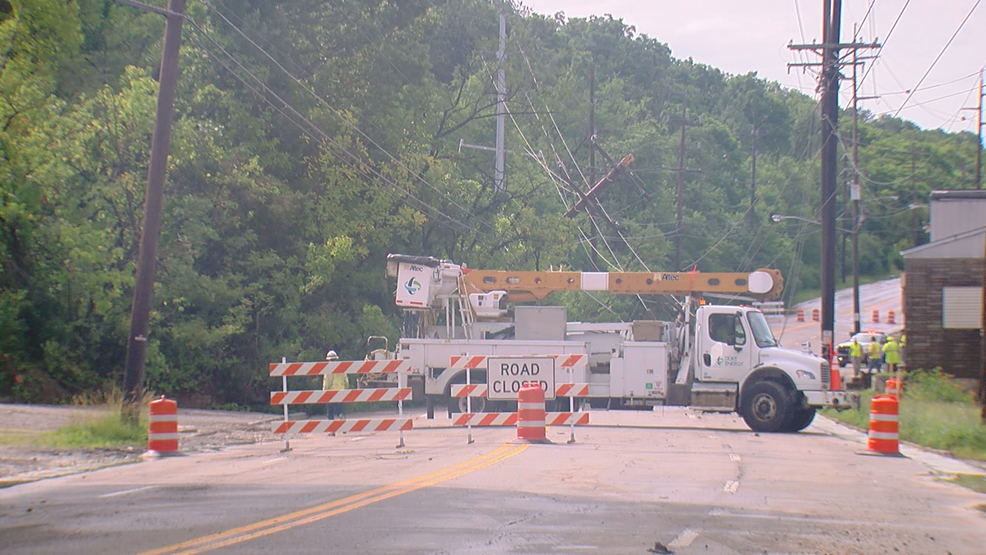 Work to reopen Route 9 hits new phase | WKRC Kentucky Road Map Route on kentucky power plant, kentucky route 17, kentucky highways, kentucky wilderness,