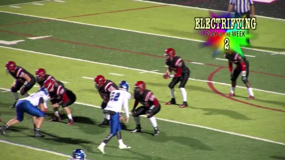 Week 10 IBEW/WTOV9 Electrifying Play of the Week