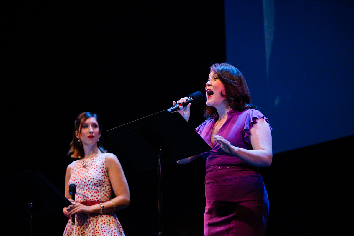 Last night was Spotlight Night for A Chorus Line, the upcoming fall production at The 5th Avenue Theatre. Hosted by Executive Producer and Artistic Director David Armstrong, guests got a free behind-the-scenes look at numbers in both acts of the show, and were lead through the lives and careers of Broadway director/choreographer Michael Bennett and A Chorus Line's award-winning composer Marvin Hamlisch.   Tickets for A Chorus Line are on sale now, and the show runs September 3-28, 2014.(Image: Joshua Lewis / Seattle Refined)