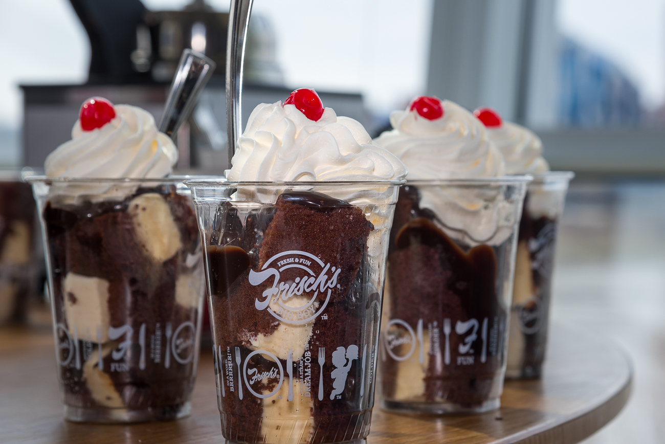 Frisch's Hot Fudge Sundaes, of course! / Image: Phil Armstrong, Cincinnati Refined // Published: 3.21.19