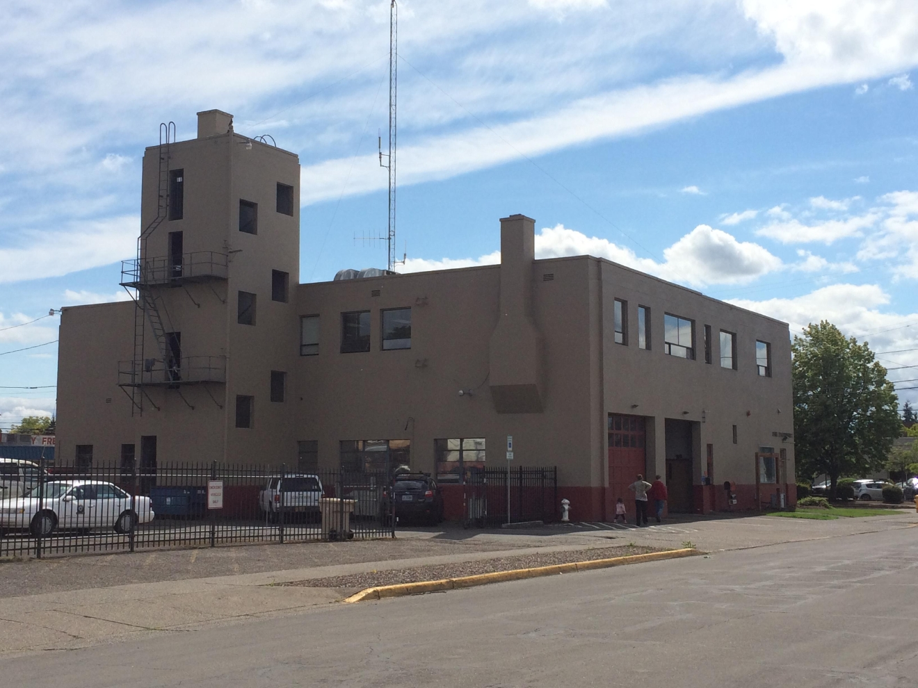 The Albany Fire Station held an open house at its downtown location. The building will soon be demolished so a safer building can replace it. Photo by Emily Higgins