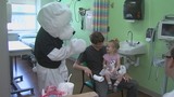 "Local company brings joy with ""care bears"" to young patients at Navicent"
