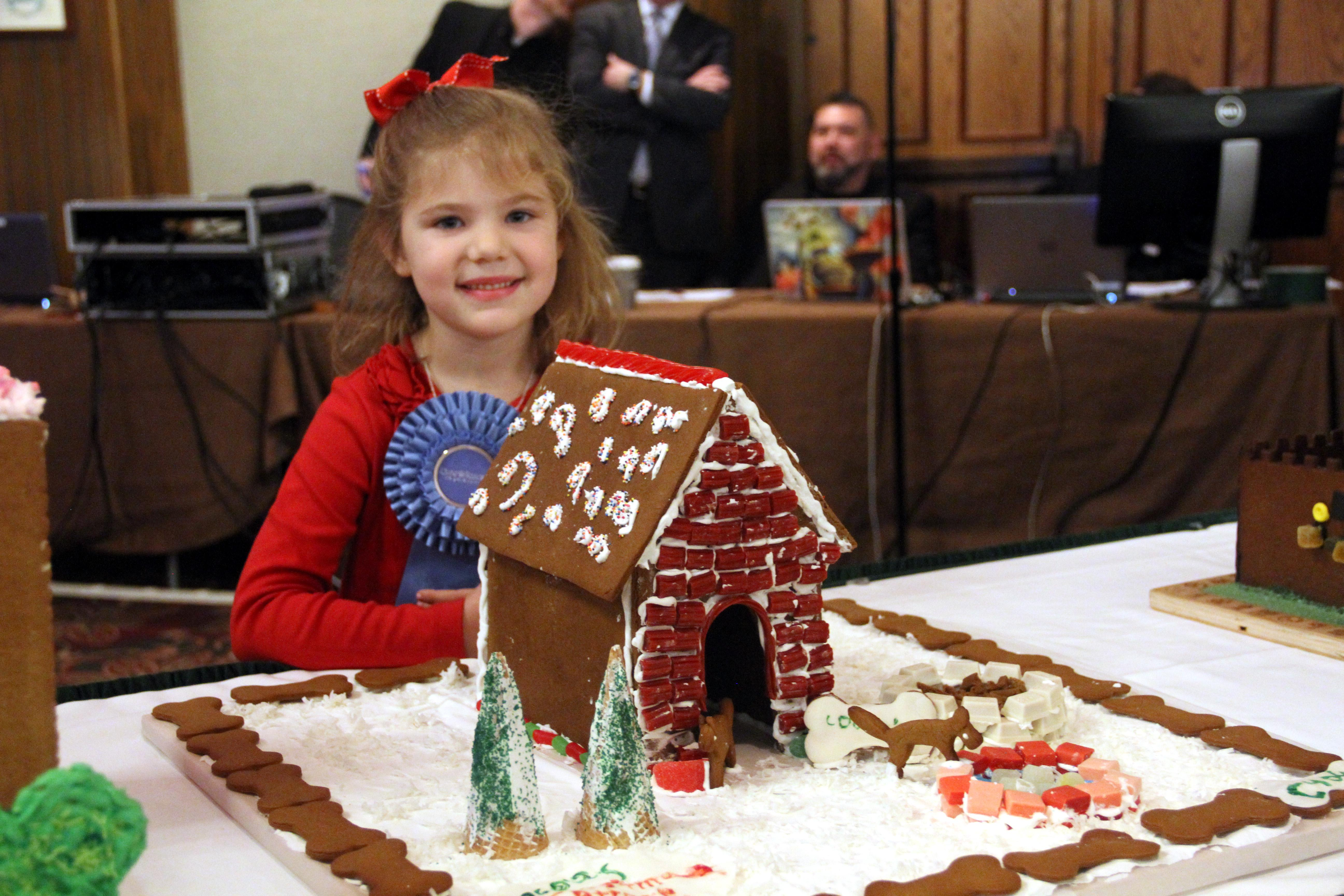 The scene at the National Gingerbread House Competition at the Omni Grove Park Inn on Nov. 20, 2017. (Photo credit: WLOS Staff)