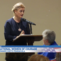 International Women of Courage award winner visits Pensacola