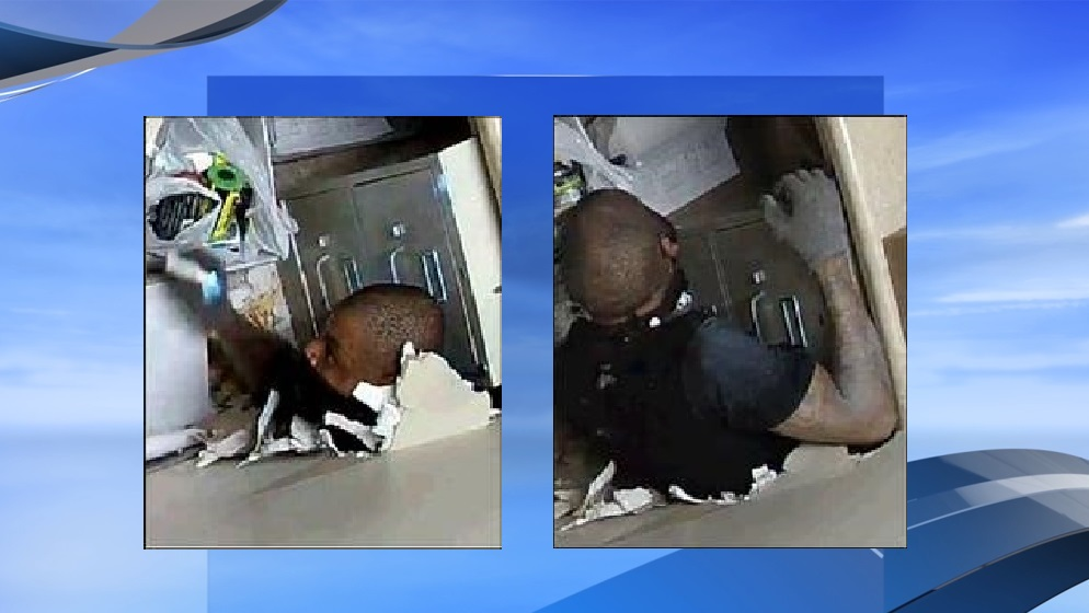 Sheriff: Help find the man who broke through a wall to rob a