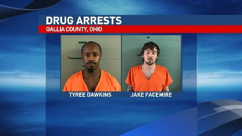 Deputies Two Arrested On Drug Charges In Gallia County