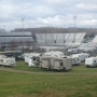 Folks camping out now for Martinsville Speedway race this weekend