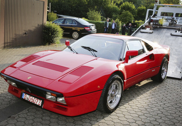 German police recover valuable Ferrari, search for thief