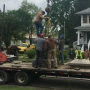 Historic 'Soldier in the Field' monument moved