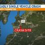 1 dead, 2 injured in South Thomaston crash