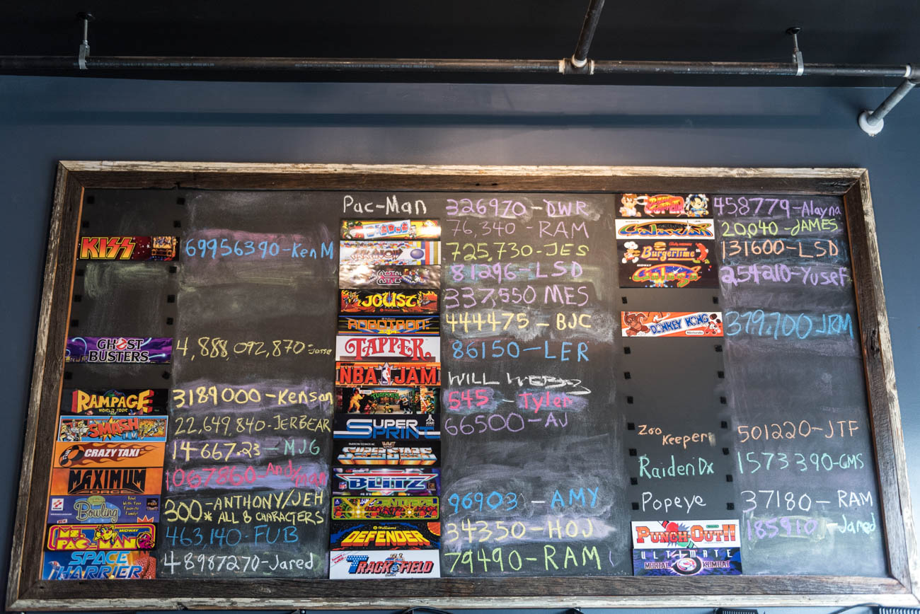 Arcade Legacy Bar Edition offers classic arcade games, old school console games, and the newest available titles. All games besides pinball are free to play with a purchase of food or drink; hot dogs and nachos are available in addition to the arcade's full bar. ADDRESS: 3929 Spring Grove Avenue (45223) / Image: Mike Menke // Published: 9.20.18