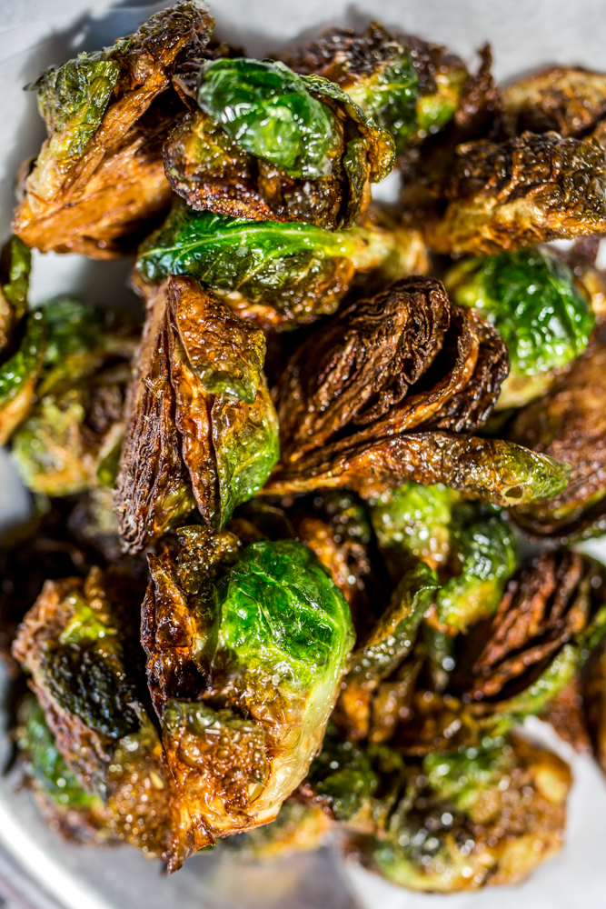 Crispy brussels sprouts served with aji verde aioli / Image: Catherine Viox // Published: 6.12.19