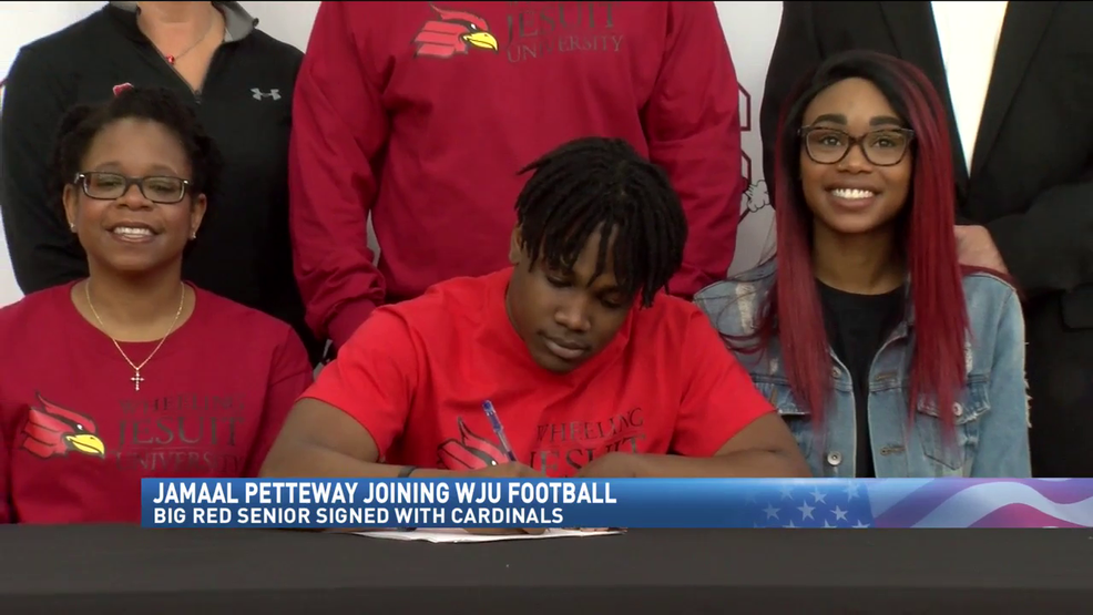 4.11.18 Video - Big Red's Petteway headed to Wheeling Jesuit
