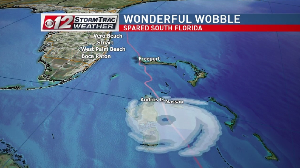 The Wobble that saved West Palm Beach WPEC