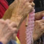 Eric's heroes: 'The Knotty Knitters'