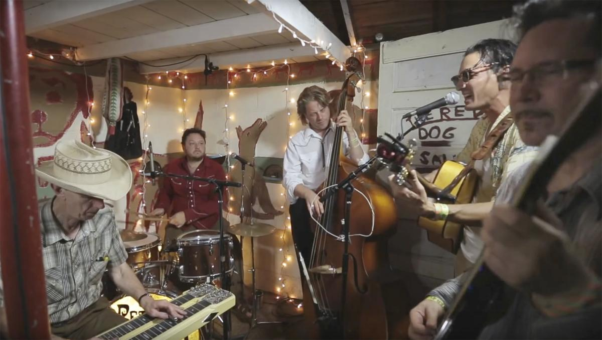 Petunia and the Vipers play Brickroom Gathering House