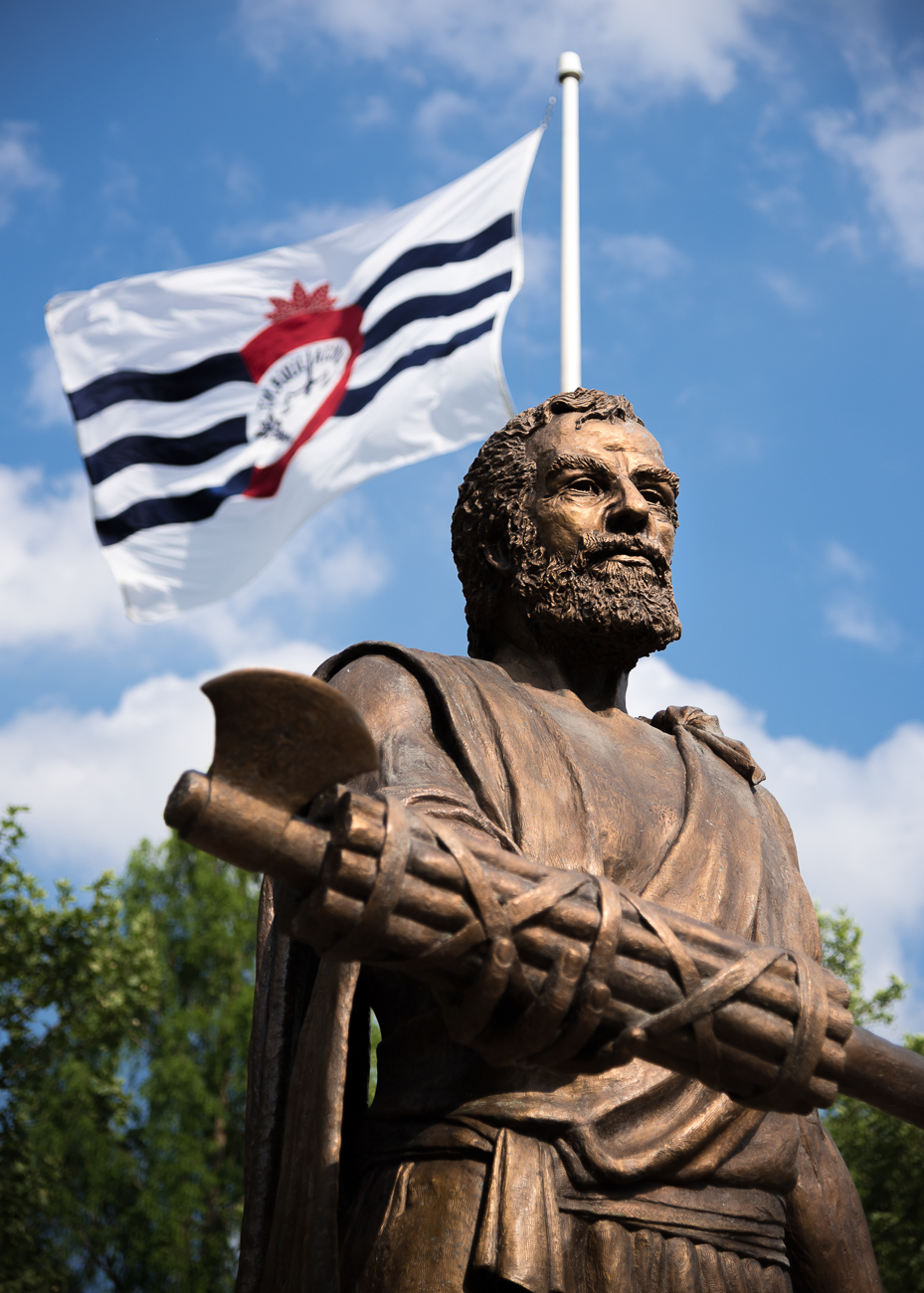 #13 (continued): It's the statue of Cincinnatus himself in Bicentennial Commons! Our city is named after the Society of Cincinnati, which is named for the Roman emperor Cincinnatus. Thanks for playing! / Image: Phil Armstrong, Cincinnati Refined // Published: 4.24.19