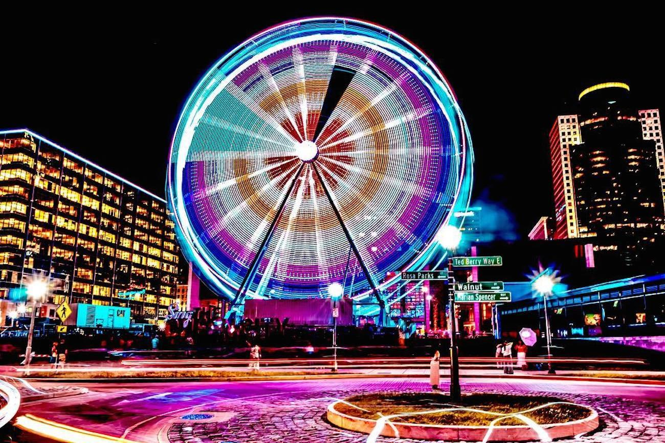 The SkyStar is the largest traveling observation wheel in the country. Guests are carried in gondolas up almost 15 stories high while overlooking the Ohio River. The 36 carriers are climate-controlled and can hold up to six people. The magnificent structure will only call The Banks its home through December 2nd before it's packed up and rolled to a new city. SkyStar runs daily, and tickets are $12.50. ADDRESS: 55 East Freedom Way (45202) / Image courtesy of Instagram user @513_cincinnati // Published 9.12.18<br>