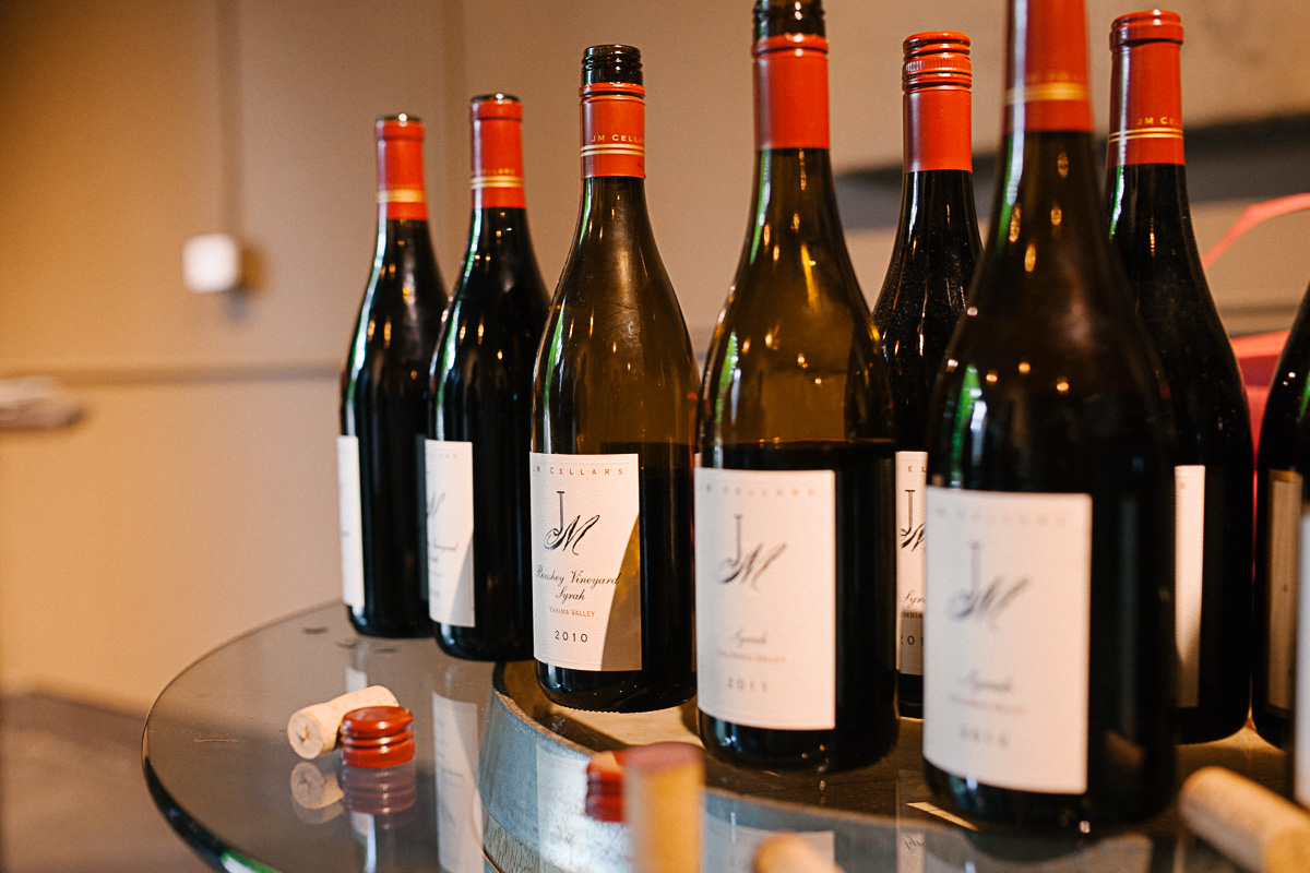 Boushey Vineyard designated wine from JM Cellars (Image: Paola Thomas / Seattle Refined)