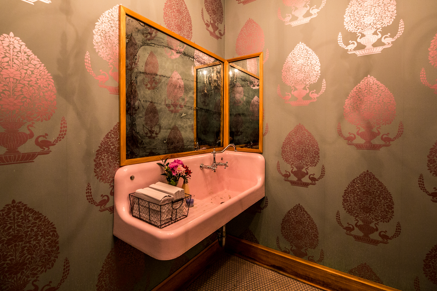 The bathrooms are stunning, too. / Image: Catherine Viox // Published: 9.30.19