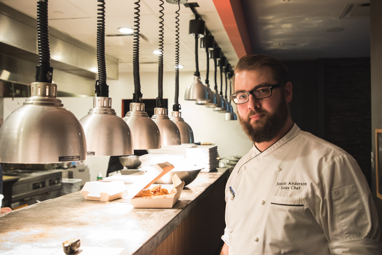 Justin Anderson, sous-chef / Image: Phil Armstrong // Published: 9.9.17