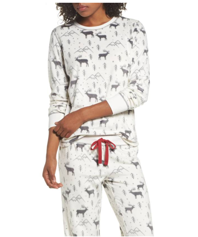 Polar Fleece Pajamas from PJ Salvage, $72 (Image courtesy of Nordstrom).