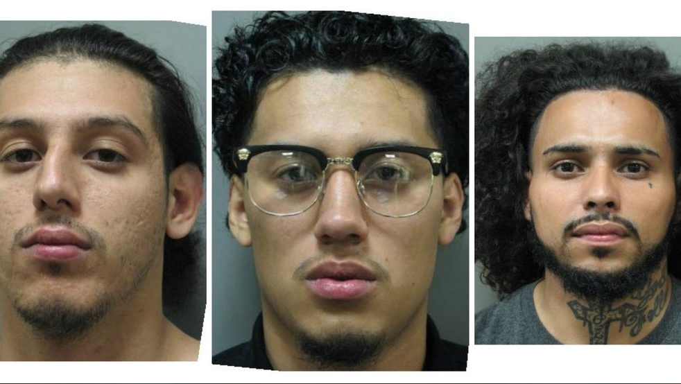 From Left to Right: Edgar Garcia, Roger Garcia, Jose Canales-Yanez (Montgomery County Police Department)