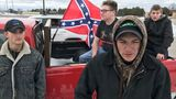 Confederate flags on trucks cause controversy at Bay City school