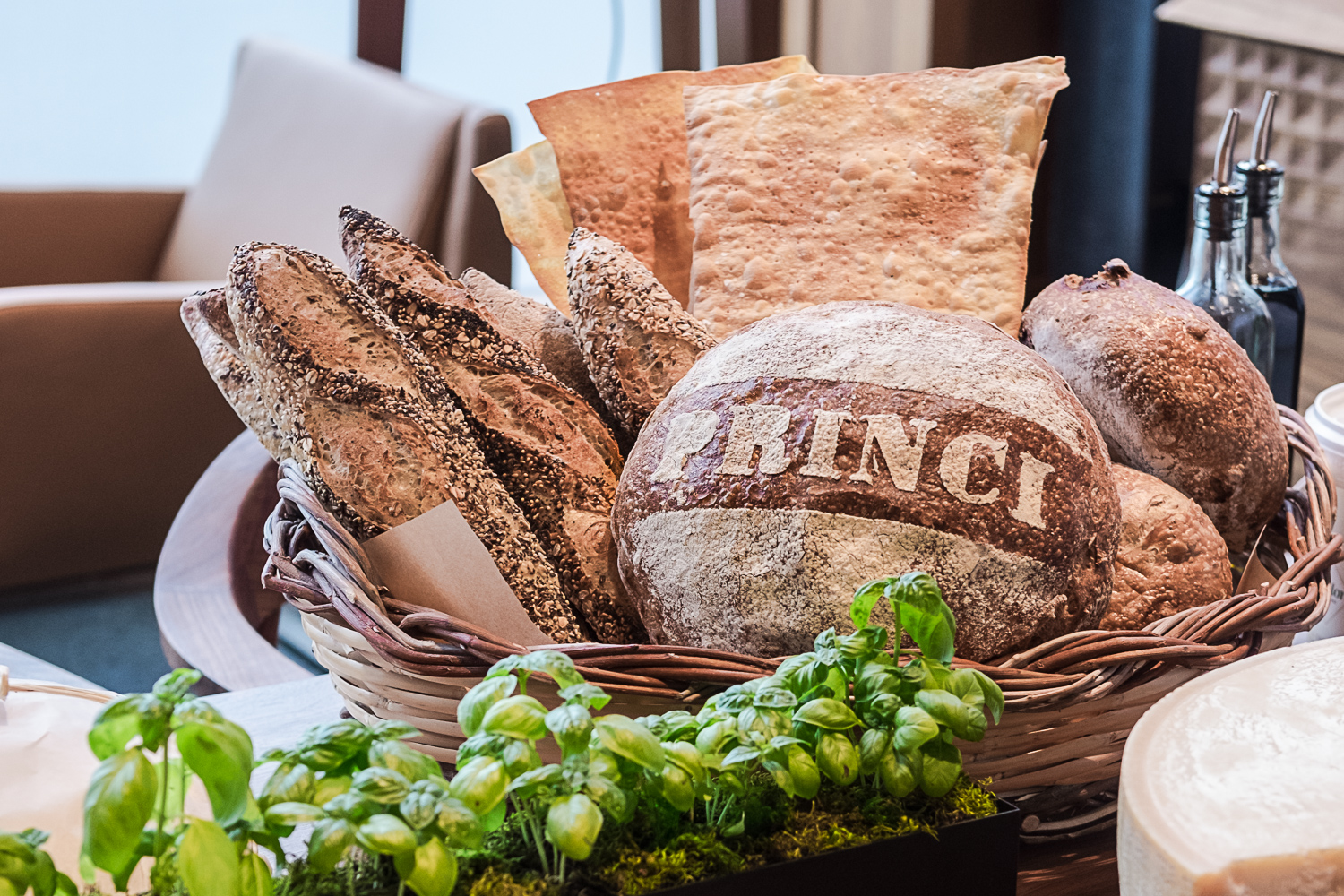 <p>{&amp;nbsp;}Fresh, earthy, aromatic, artisanal breads are the heart and soul of Princi and will be served all day and available for purchase. These include naturally leavened loaves, ciabatta and sfilatini crafted from premium Italian-milled flour.(Image: Paola Thomas / Seattle Refined){&amp;nbsp;}</p><p></p>