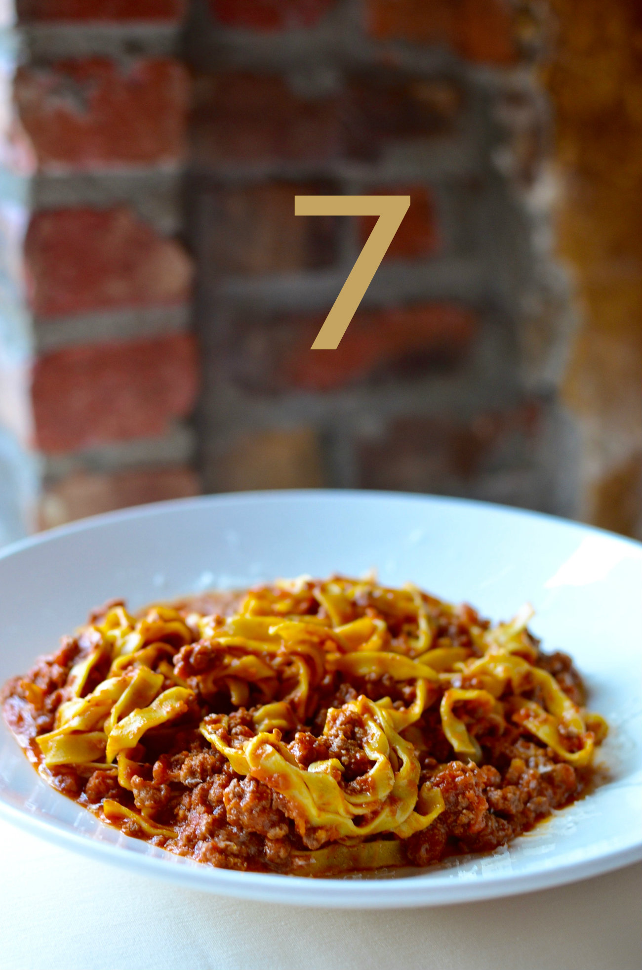 #7 - Nicola's offers a special on Monday nights featuring the tagliatelle bolognese and a house salad for only $15. Whoa, right?! / Image: Leah Zipperstein, Cincinnati Refined