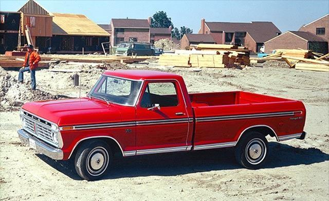 Originally sold alongside the F-100, the Ford F-150 was created to dodge stricter emissions requirements. The EPA required catalytic converters on vehicles with a gross weight rating of less than 6,000 pounds. The F-150 was rated at 6,050 pounds.