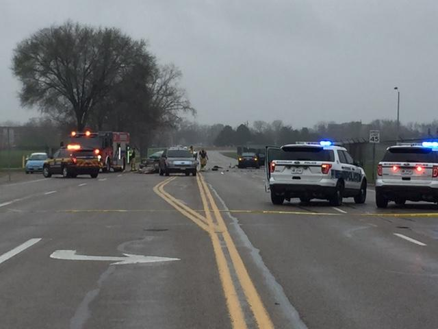 46-year-old woman reportedly driving erratically killed in head-on crash in Riverside (WKEF/WRGT)