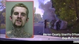 Florida deputies save fleeing felon from burning van