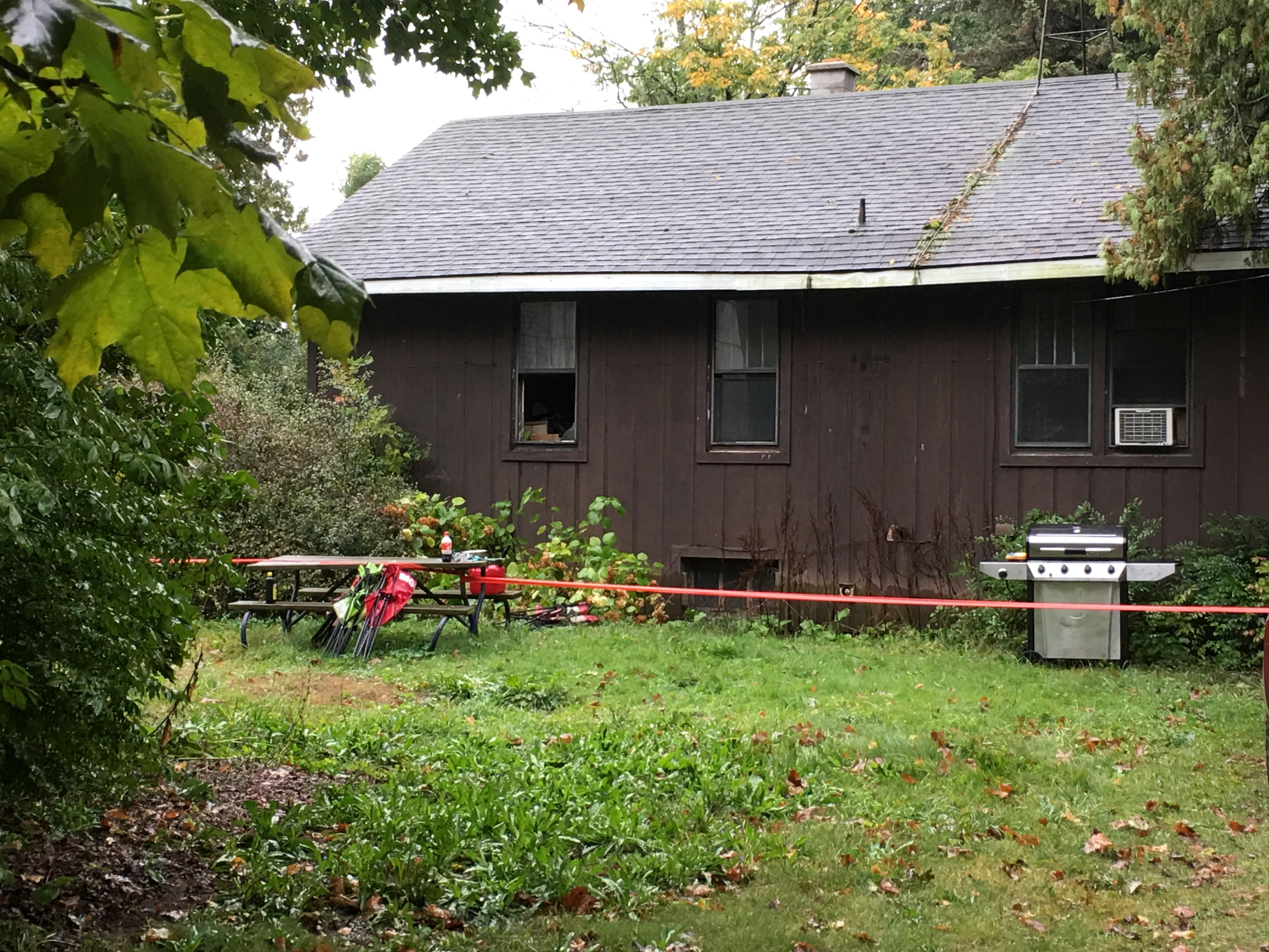 A Mason County woman is dead after being trapped in an early morning house fire.